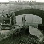 003 LUCS H0014 Cleaning canal at bridge 1